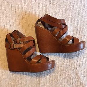 Kork-ease platforms sandals